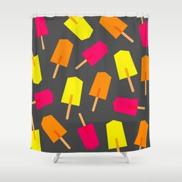 Ice Lollies 02 Shower Curtain