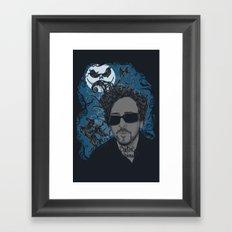 Burton´s Universe Framed Art Print