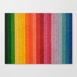 Band of Rainbows Canvas Print