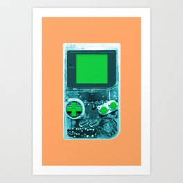 The Gameboy Art Print