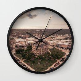 Denton, Texas Courthouse Wall Clock