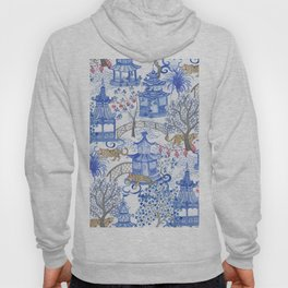 Party Leopards in the Pagoda Forest Hoody