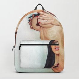 Sexy Nude Cute Horny College Girl With Naked Boobs Kinky Beautiful Home Decor Erotic Wall Art Backpack