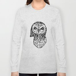 Staring Owl Long Sleeve T-shirt