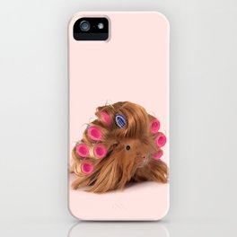 CURLY GUINEA PIG iPhone Case