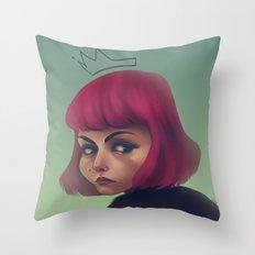 queenpink Throw Pillow