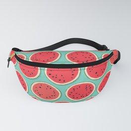 watermelon polka mint Fanny Pack