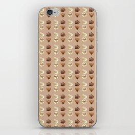 Chocolate hearts iPhone Skin