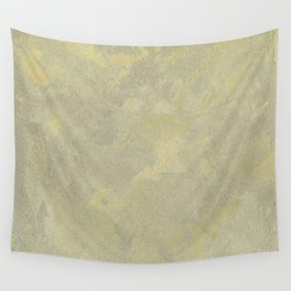 Champagne Skies Silver And Gold Metallic Plasters - Fancy Faux Finishes Wall Tapestry