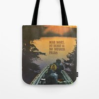 prism Tote Bags featuring PRISM by KELLY SCHIRMANN