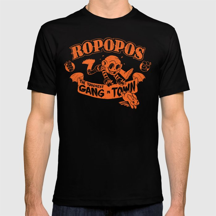 Ropopos: The Toughest Gang In Town T-shirt