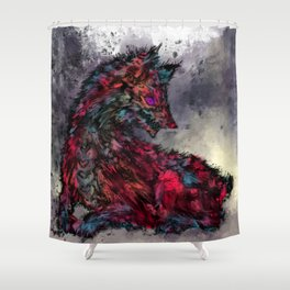 Hellish Shower Curtain