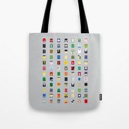 Minimalism Villains Tote Bag