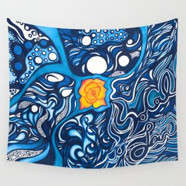 SoCal Love Painting Wall Tapestry