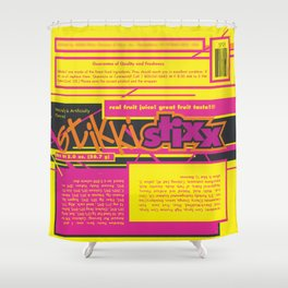 kerning adheres Shower Curtain