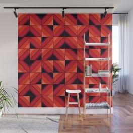 Fake wood pattern Wall Mural