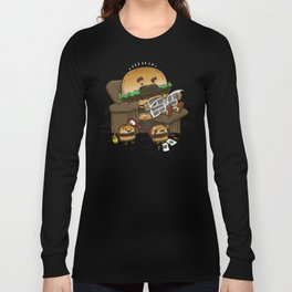 The Dad Burger Long Sleeve T-shirt