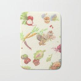 Fall Food Bath Mat