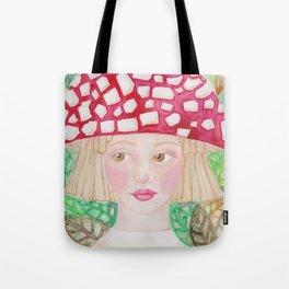 Mushie Girl Tote Bag