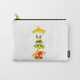 The Three Caballeros Carry-All Pouch