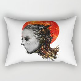 just a ghost in the shell Rectangular Pillow