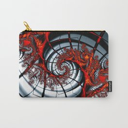 Fractal Art - Burning Web Carry-All Pouch