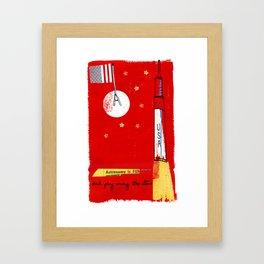 Astronomy is fun...honest! Framed Art Print