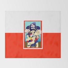 Sailor Group Photo Throw Blanket