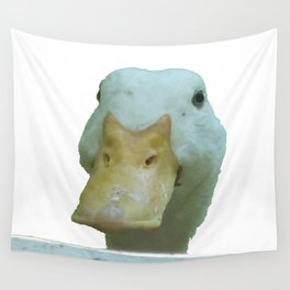 Peeking Duck Vector Wall Tapestry