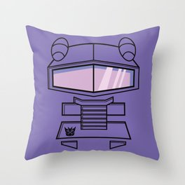 Transformers - Shockwave Throw Pillow