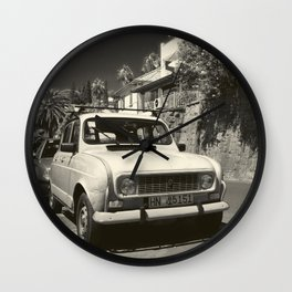 Old Renault Wall Clock