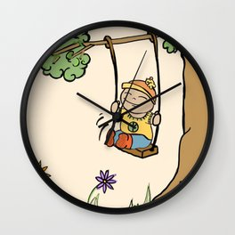 Swing. Wall Clock