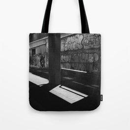 Graffiti In The Alleyways Tote Bag