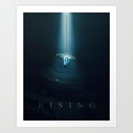 Anchor Rising Art Print