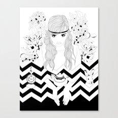 Alice in Wonderland Series - Eat me Canvas Print