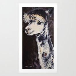 Bobbi Sox Art Print