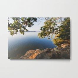 Morning on Lake Barkley Metal Print