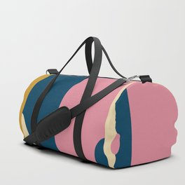 Blue & Pink Space Duffle Bag