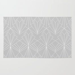 Art Deco on Grey Rug