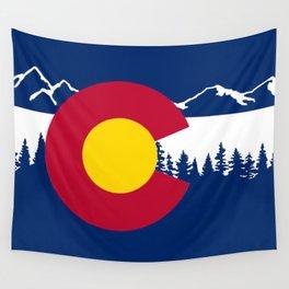 Colorado flag Wall Tapestry