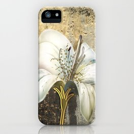 Midas Lily iPhone Case