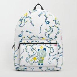 Little gardener bear Backpack