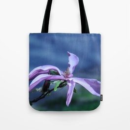 Greeting Magnolia Tote Bag