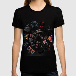 circle of Rorschach test Ink blots ! T-shirt