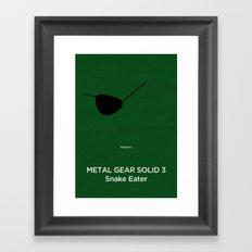 Konami's Metal Gear Solid 3 : Snake Eater Framed Art Print