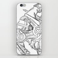 skyrim iPhone & iPod Skins featuring Dragonborn (Skyrim) by  Steve Wade ( Swade)