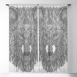 Gray Wolf Sheer Curtain