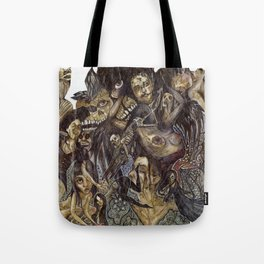 Dark Bloom Tote Bag