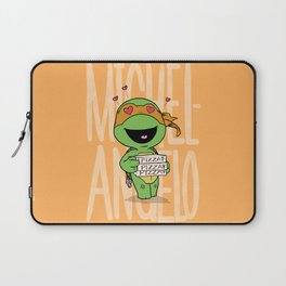 TMNT: Michelangelo (Cute & Dangerous) Laptop Sleeve