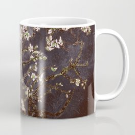Vincent Van Gogh Almond Blossoms dark gray slate Coffee Mug